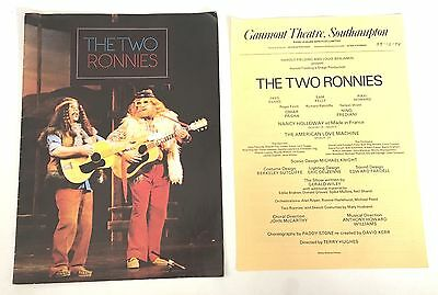 The Two Ronnies, Gaumont Theatre Southampton, Programme, 1978