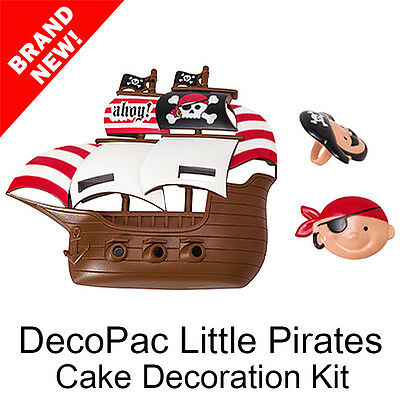 DecoPac Little Pirates Cake Topper Decoration Kit