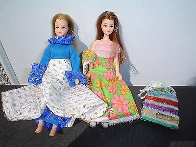 2 Palitoy Dolls - Pippa And Rosemary? In Lovely Outfits