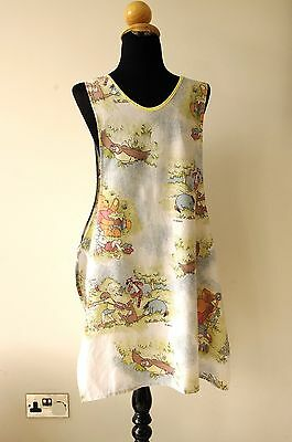 A Vintage Tabard - hand made from Winnie the Pooh fabric.