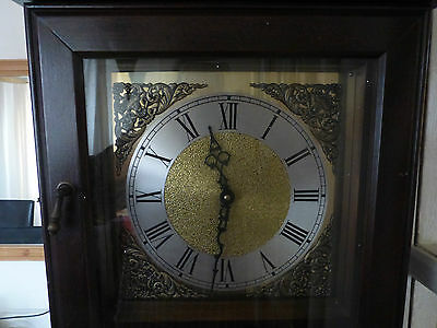 Grandfather Clock Tempus Fugit Good Working Order.good Condition