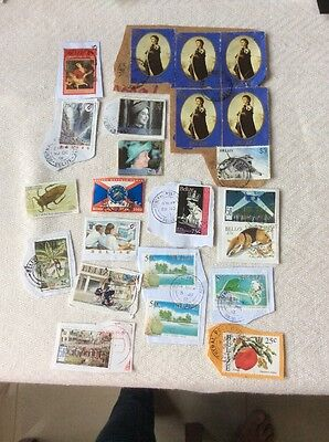 Belize Stamps Royal Family and  Others - Used
