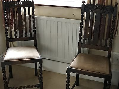 2 Antique Vintage Chairs