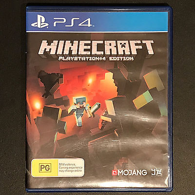 MineCraft Playstation 4 Mine Craft PS4 Edition Game PAL