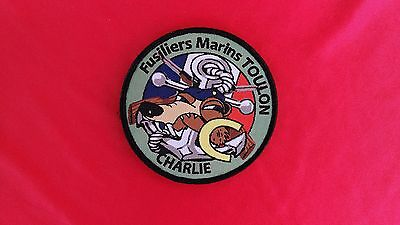 Patch  FUSILIERS  MARINS   TOULON