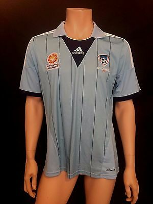 Sydney FC Home Football Shirt, Size Large, Immaculate, Rare