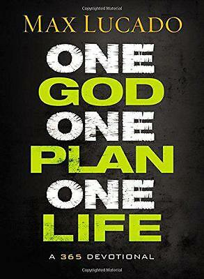 ONE GOD ONE PLAN ONE LIFE HB by MAX LUCADO   Hardcover Book   9781400322633   NE