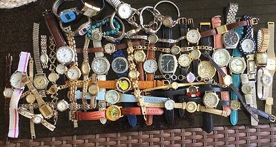 Mens Womens Jewelry Watch Lot AS IS Repair Resale Repurpose Craft Vintage To Now
