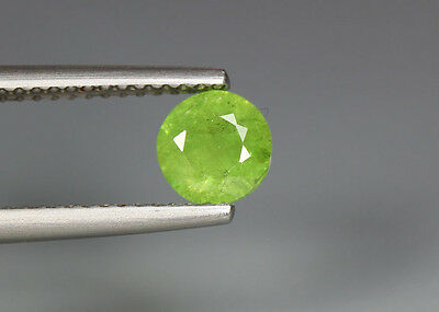 0.88 Cts_Stunning Very Rare Collection_100 % Natural Demantoid Garnet - Russia