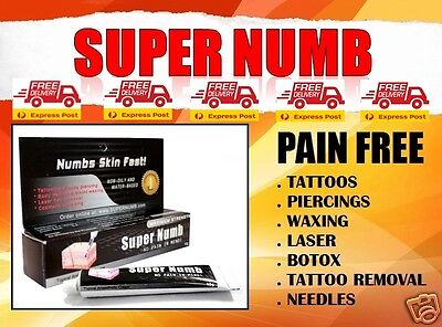 Tattoo SUPER NUMB Cream 30g Topical Anesthetic Piercing Makeup
