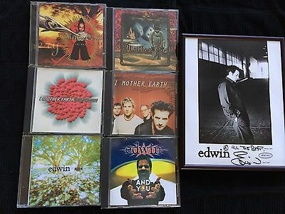 I Mother Earth/edwin Autographed Picture And Rare Promo Single Releases!