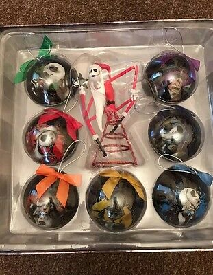 Disney Nightmare Before Christmas Bauble Tree Topper Jack Skellington Decoration