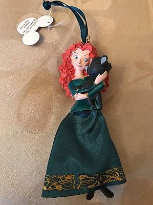 Disney Merida The Brave Princess Christmas Decoration Ornament Sketchbook