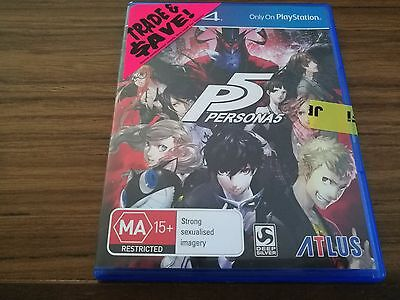 Playstation 4 Persona 5 Game - New