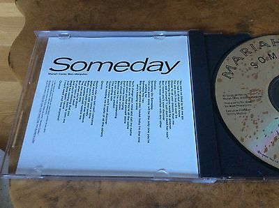 Mariah Carey - Someday - USA 1991 4trk PROMO ONLY CD Single.Very Rare.