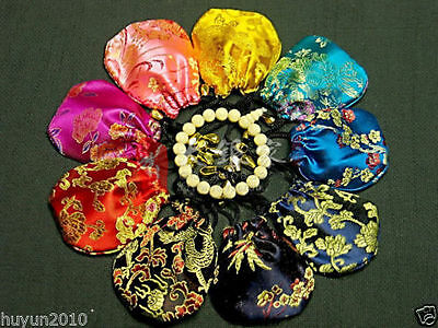 HOTsale 10 pcs Chinese Handmade Classic Silk Jewellery Pouch/Coin Purse Gift Bag