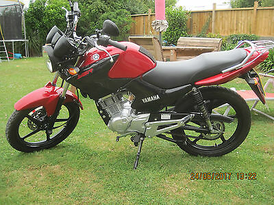 Yamaha Ybr125 2013 63 Reg 1 Previous Owner 944 Miles Long Mot