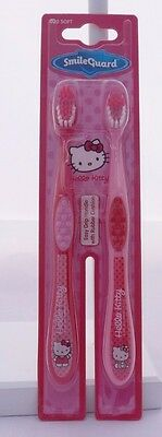 Hello Kitty Set deux brosses à dent rose poil souple