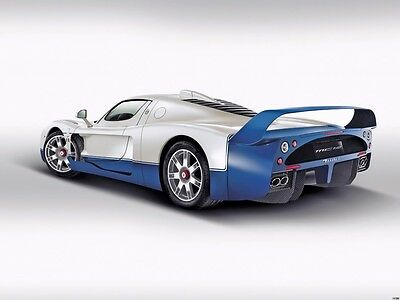 MASERATI CAR 6 Photo Picture Poster Print Art A0 to A4 CAR POSTER AB250