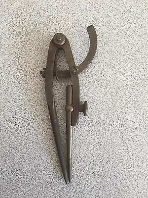 Vintage 6 Inch Pexto Wing Divider Compass (USA)