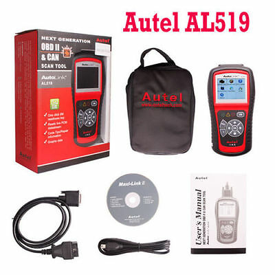 Autel AL519 OBD2 OBDII CAN Escaner de diagnosis multimarca OBDII