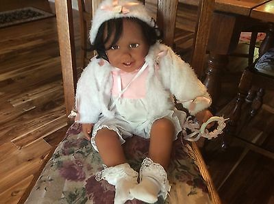 AA African American Black BABY ISABEL Doll Paradise Galleries by Jessica Sauer