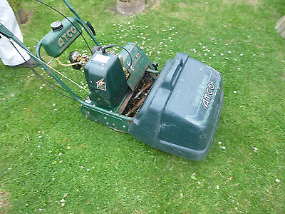 vintage atco commodore b14 petrol mower with suffolk engine