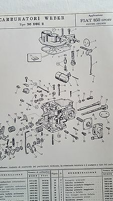 carburettor exploded view pages