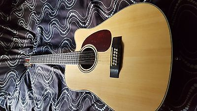 Gear 4 Music 12 String  Electro Acoustic Guitar New