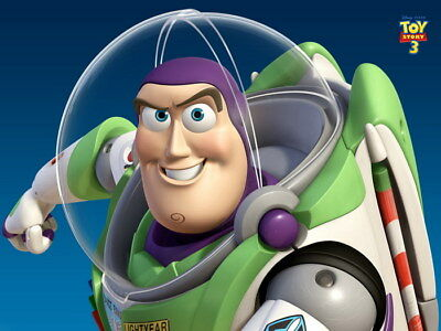 Buzz Lightyear Toy Story Wall Print POSTER AU