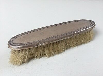 Lovely Solid Silver Clothes Brush, Birm 1920