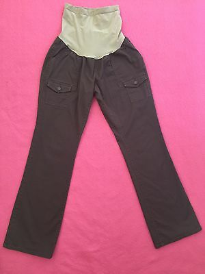 EUC Large Secret Belly Stretchy OH BABY BY MOTHERHOOD MATERNITY Cargo Pants