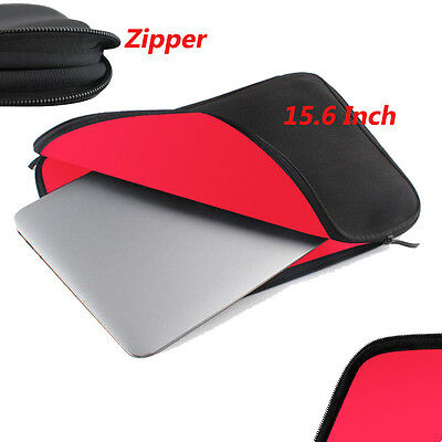 15.6 INCH Laptop Sleeve Bag Case Cover For Apple HP DELL Toshiba ASUS Sony Acer