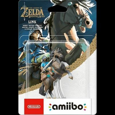 Nintendo Legend Of Zelda Breath Of The Wild LINK RIDER Amiibo Wii Switch 3DS