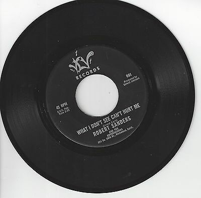 Original Northern Soul-Robert Sanders-What I Don'T See Can'T Hurt Me-Vlv