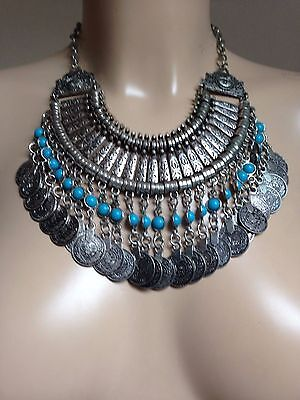 MOROCCAN BERBER AFRICAN JEWELLERY; Necklace, Boho, ethnic. From Marrakesh souk!