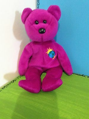 TY BEANIE BABY Millenium The Bear 1999 Retired No Hang Tag