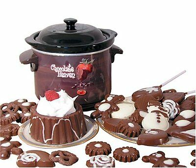 NEW Prima CHM-915 Deluxe Chocolate Heaven Fondue Pot