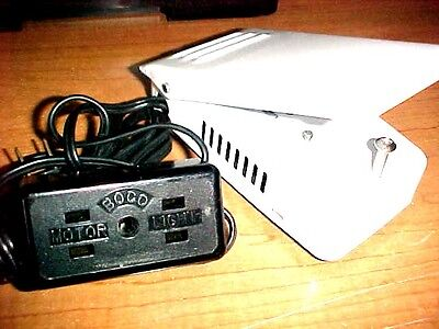 Motor & Light Box Cord With Adjustable Speed Ft Pedal-Available In Black & White