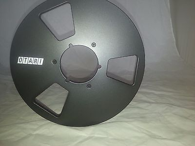 """New!  OTARI Black 10.5"""" inch Metal Reels for 1/4"""" tape- Mint Condition"""