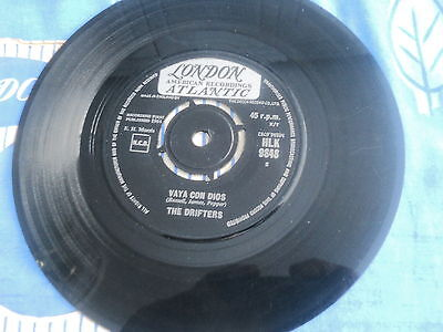 The Drifters,vaya Con Dios,1964 London Label,soul,northern,mod,vg Plays Ex.