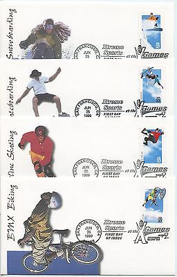 1999 Fdc, Extreme Sports, Collection
