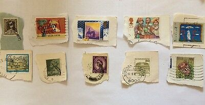 10 Mixed Stamps
