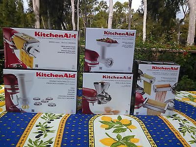 KitchenAid Mixer Pasta Attachments - 5 Piece - Everything You Need for Pasta!