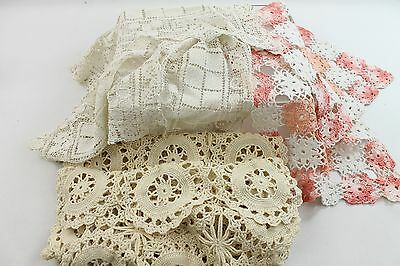 Lot of 6 Pieces of Vintage/Antique Linens Very Good
