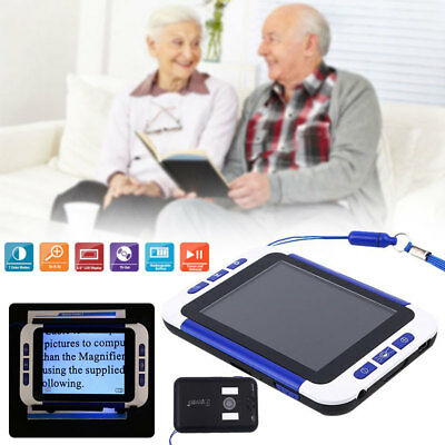 """3.5"""" Color LCD Portable Electronic Reading Digital Magnifier Eyesight-Aiding HQ"""