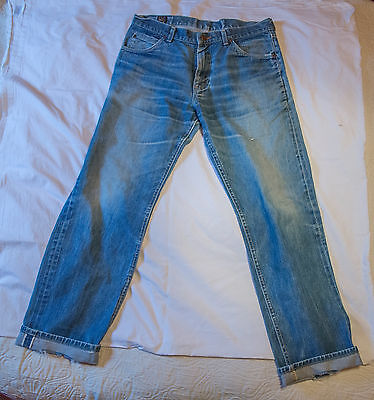 Vintage Lee 'Riders', very rare US made, selvedge, 36inch waist