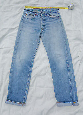 "Levi's 501 jeans, genuine vintage (late 70s-early 80s), selvedge. 33""-34"" waist"