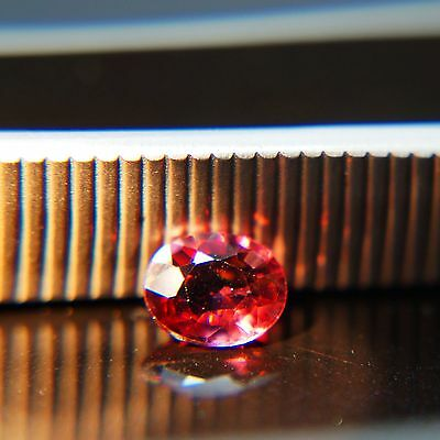 Nice & Rare!!! 1.04 Ct Natural Untreated Color Change Malaya Garnet(Mg-8)