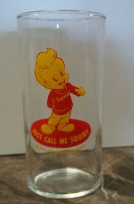 1952 Squirt Soft Drink Juice Glass - Just Call Me Squirt